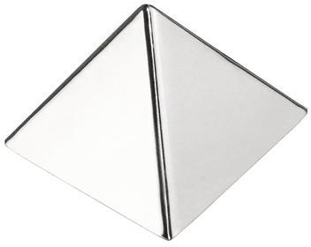 Moule à pyramide inox
