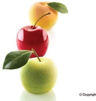Moule pommes pêches cerises