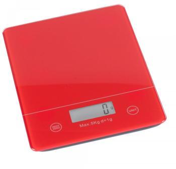 Balance électronique rouge