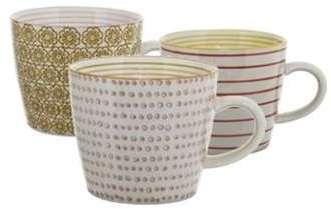 Set de 3 Mugs Multicolores
