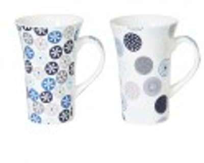 Coffret 2 maxi mugs 55cl jaipur