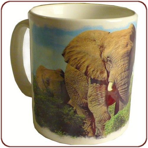 Mug imprimé Elephants