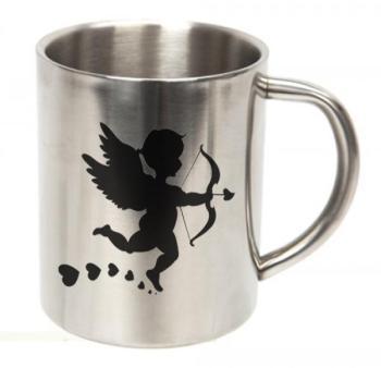 Mug personnalisé inox - hauteur
