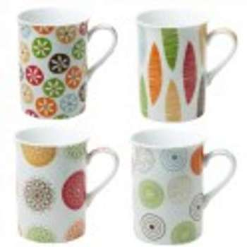 Coffret de 4 mugs bali 30