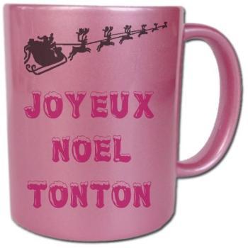 Mug rose Noël