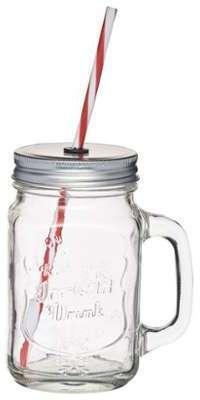 Tasse vintage Mason Jar en