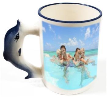 Mug dauphin personnalisé