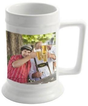 Chope à bière personnalisée