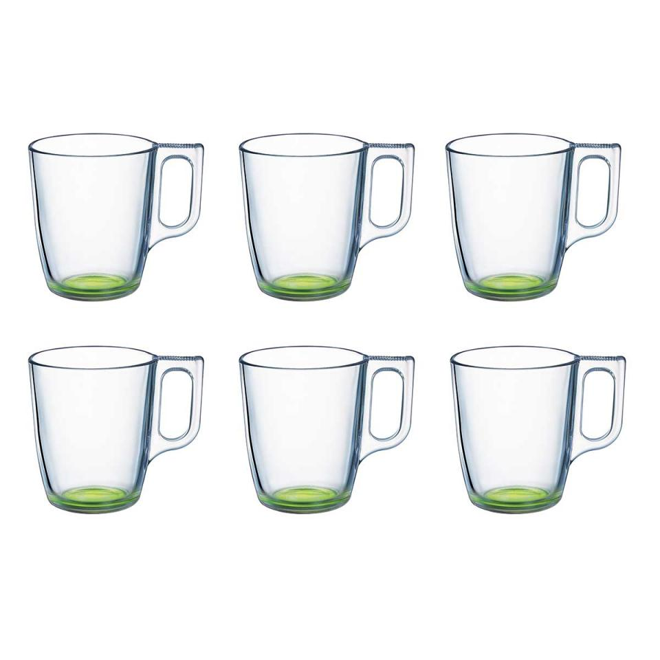 Lot de 6 Mugs 25 cl Crazy