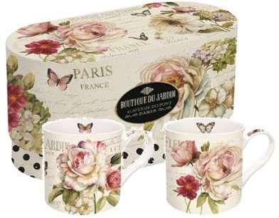 Coffret de 2 mugs Marché aux