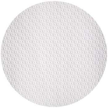 Nappe ronde papier blanc 80