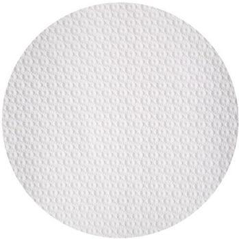 Nappe ronde papier blanc 110