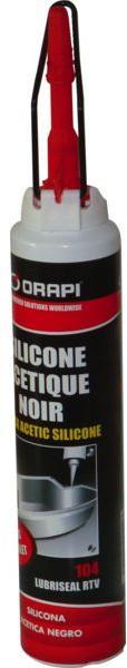 Joint silicone noir pour étanchéité
