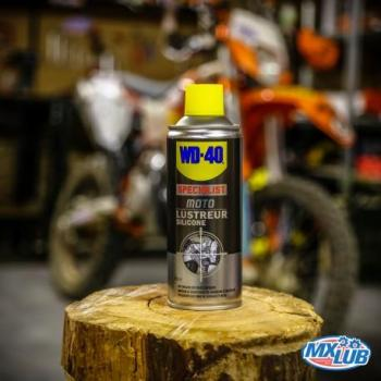 WD-40 Lustreur Silicone Moto