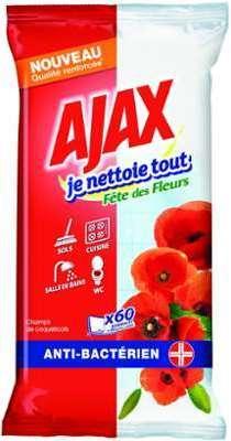 Ajax Je nettoie tout Fête
