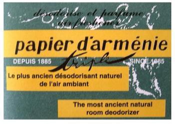 Papier d Arménie triple Edition