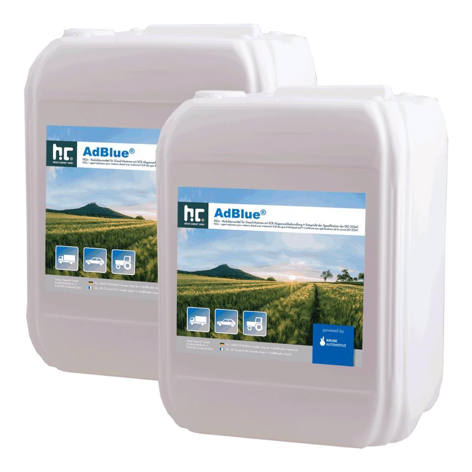 2 x 10L AdBlue - l écologie