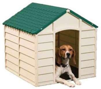 Niche pour chien en PVC M