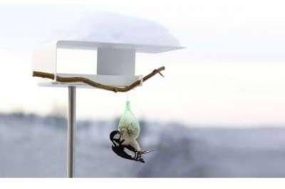 Mangeoire design pour oiseaux