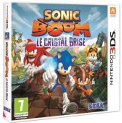 Sonic Boom Le Cristal Brisé