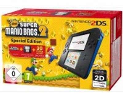 Nintendo 2DS Noire-Bleue New