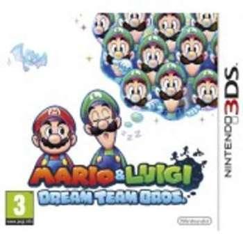 Mario Luigi Dream Team Bros