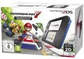Nintendo 2DS noir bleu Mario
