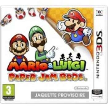 Mario Luigi Paper Jam Bros