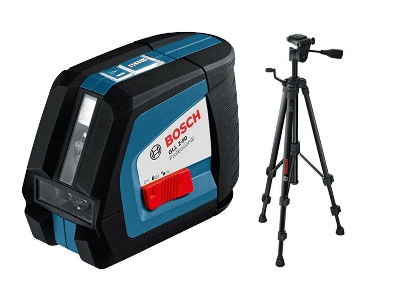 Bosch claser lignes gll 2 50 trpied bs 150 profess for Trepied pour laser bosch