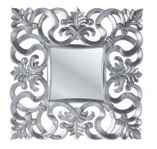 Miroir design Italia argent
