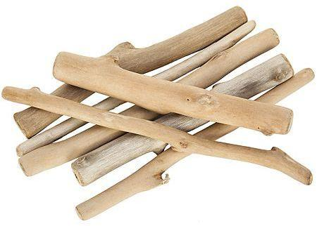 Bâtons de bois flotté nature