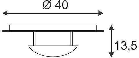 LOUISSE 1 plafonnier rond