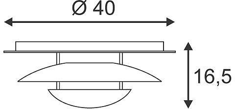 LOUISSE 2 plafonnier rond