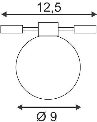 SPHERE WIRE spot pour câble