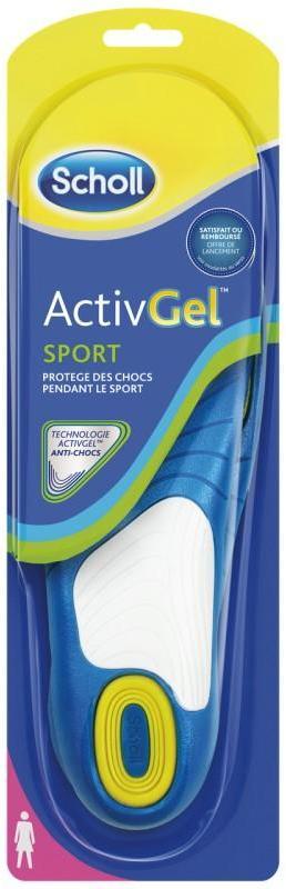 Scholl Semelles ActivGel sport
