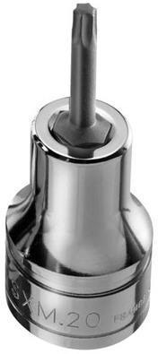 hazet douille mle torx t40 4 pans intrieurs 125 mm. Black Bedroom Furniture Sets. Home Design Ideas