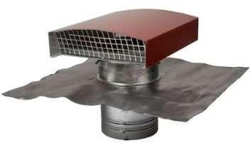 Sortie de toit - 160 mm -