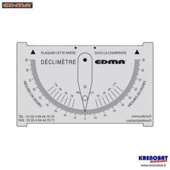 Déclimètre EDMA par FREUND