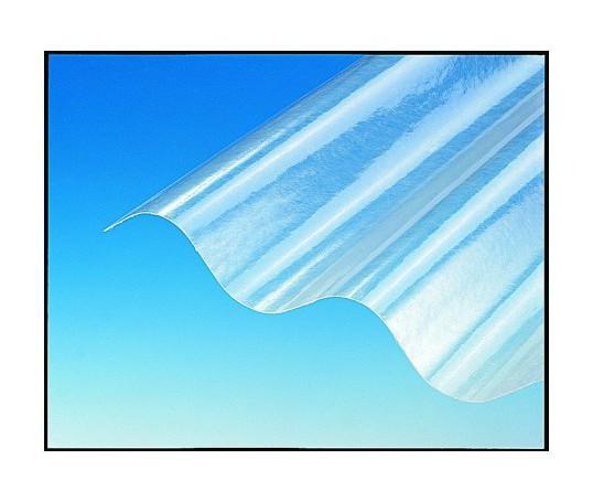 Plaque polyester ondulée (GO