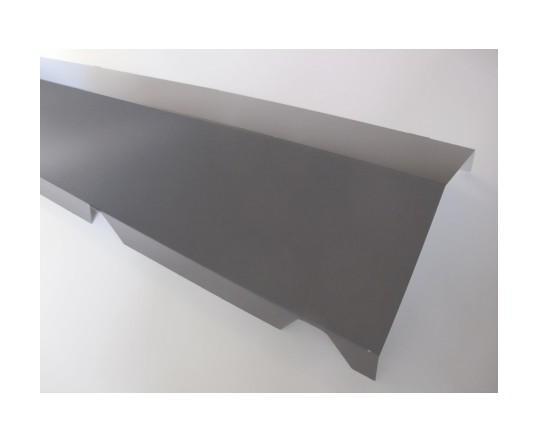 mccover profil obturation 32 mm 1250 blanc ral 9010 125 m 32 mm. Black Bedroom Furniture Sets. Home Design Ideas