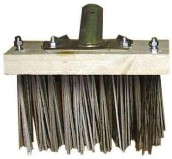 Balai métal spécial balayage