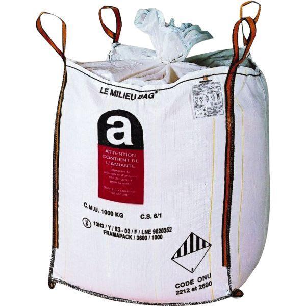 Big bag amiante MILIEU BAG