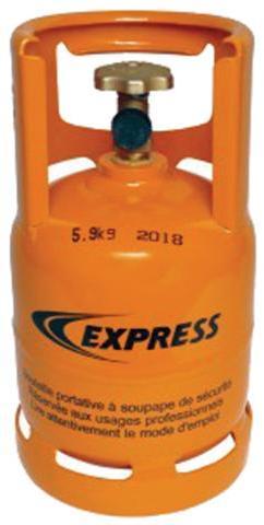 Bouteille propane remplissable