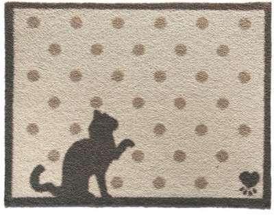 Tapis paillasson Le chat