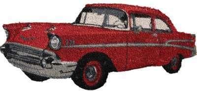Paillasson décoratif voiture
