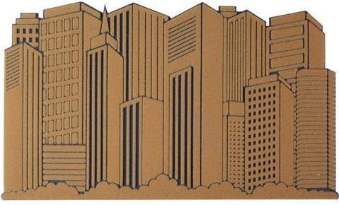 Paillasson design City