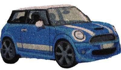 Paillasson mini bleue