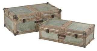 Set de 2 coffres rectangulaires