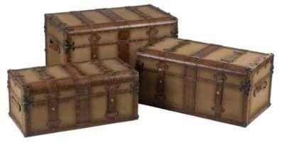 Set de 3 coffres rectangulaires