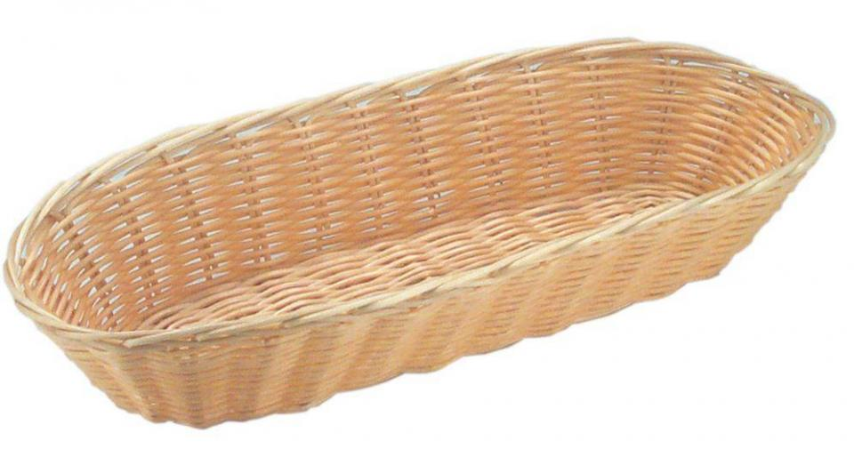 Corbeille à Pain Ovale - Poly-Rotin